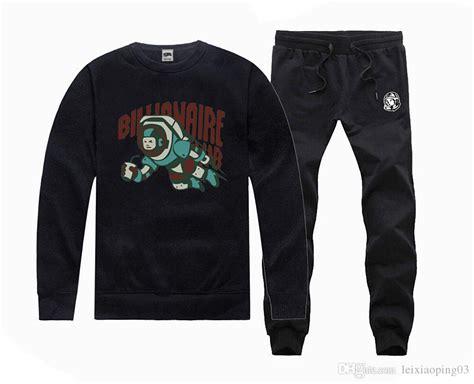 Kaos Anime Boy Billionaire Club new tracksuit hoody billionaire boys club sweatshirt hooded hip hop cotton