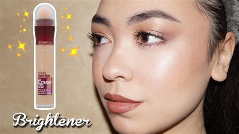 Maybellin Eye Concelear new maybelline the eraser eye quot brightener quot concealer review caroline mystee