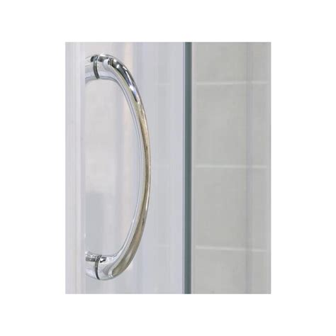 Shower Door Handle Replacement Parts Faucet Shdr 1160726 04 Fr In Brushed Nickel Frosted Glass By Dreamline