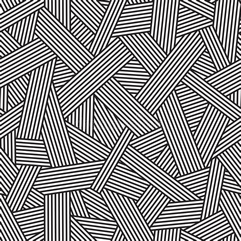 vector line pattern tutorial black and white seamless pattern geometric background