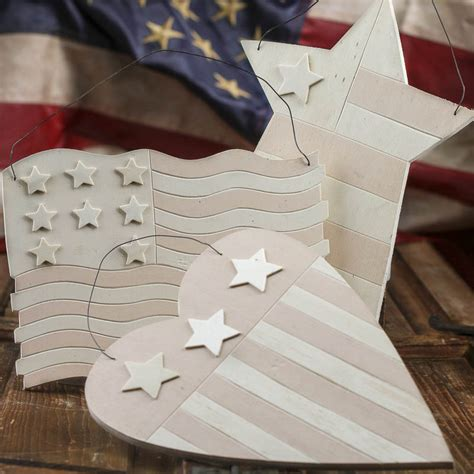 stars and stripes home decor unfinished wood stars and stripes hanger americana decor home decor