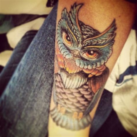 owl tattoo with green eyes green eyes owl tattoo pictures to pin on pinterest