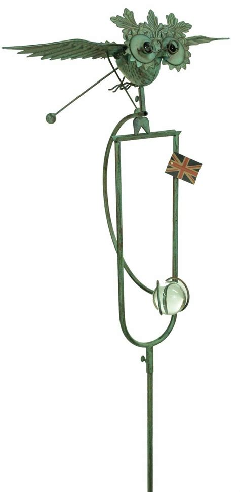 rocking balancing flying metal garden wind rocker