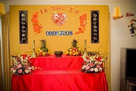 Vietnamese Wedding Decorations   Vietnamese Tea Ceremony