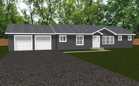 redwood 1560 square foot ranch floor plan