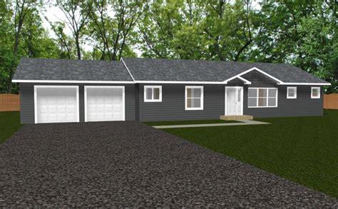 redwood 1560 square foot ranch floor plan