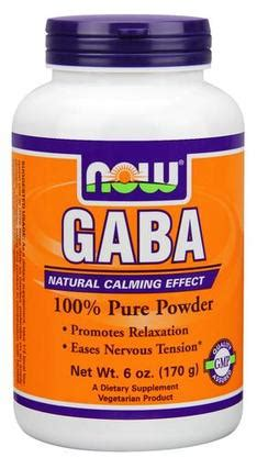 gamma o supplement reviews gaba powder by now foods