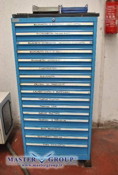 cassettiere per officina scheda tecnica varie arredo officina cassettiera usato