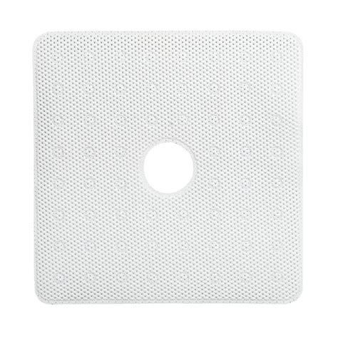 Shower Stall Mats by Zenna Home 24 In X 24 In Foam Bath Mat In White 76ww