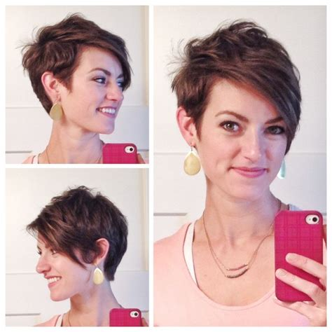 ways to style asymmetrical hair 869 best images about short and sassy haircuts on