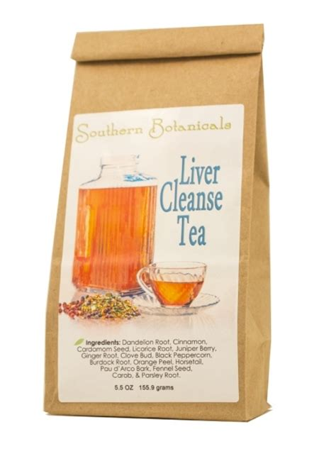 Herbal Medicine Liver Detox by Liver Cleanse Tea Organic Herbal Remedy To Clean And