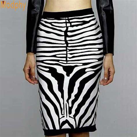 aliexpress buy bandage skirts zebra black