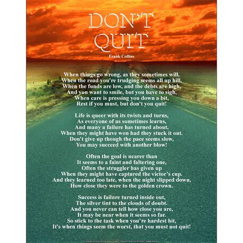 Don T Quit don t quit