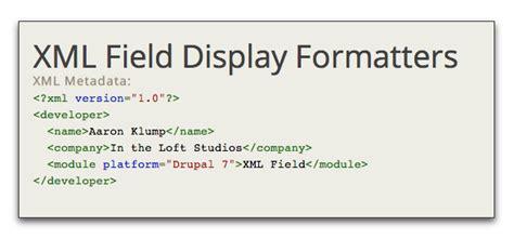 drupal theme xml xml field drupal org