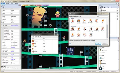construct 2 game making tutorial make your own 2d games with construct 2
