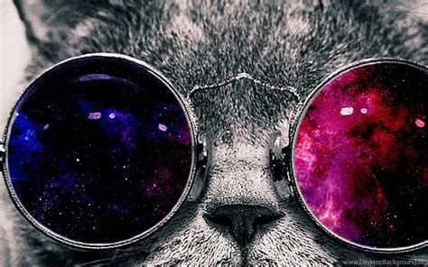 space galaxy cat  glasses page  pics  space