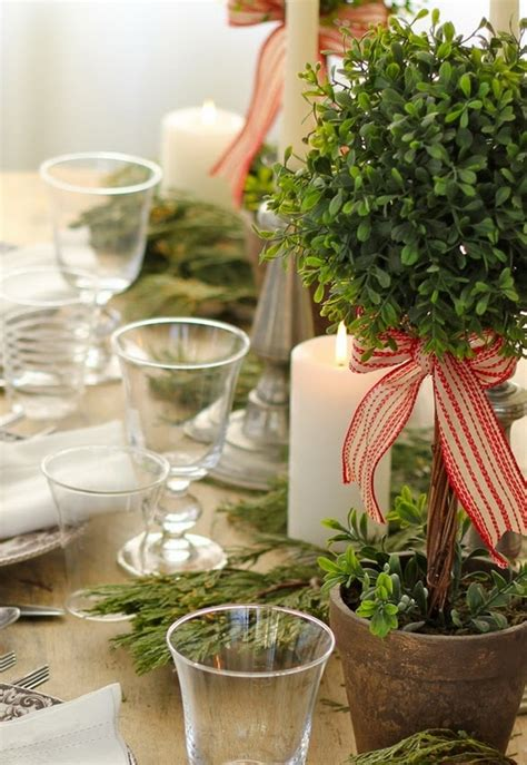 eco xmas styling 5 table setting ideas in different styles