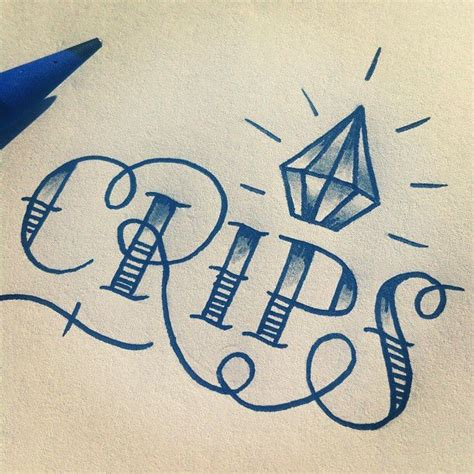 crips tattoos 15 best crips fo images on crip tattoos