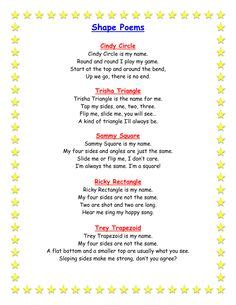 shape poems on pinterest shape poems poem and poetry