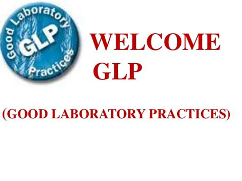 acts laboratory for performance practices good laboratory practices