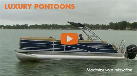 top 10 luxury pontoon boats boat to harris