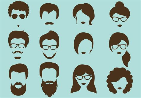 silhouette vector hipster vector silhouettes download free vector art
