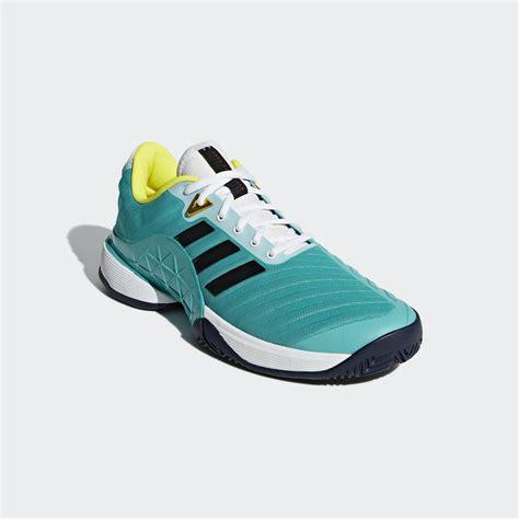 adidas mens barricade 2018 tennis shoes hi res aqua tennisnuts