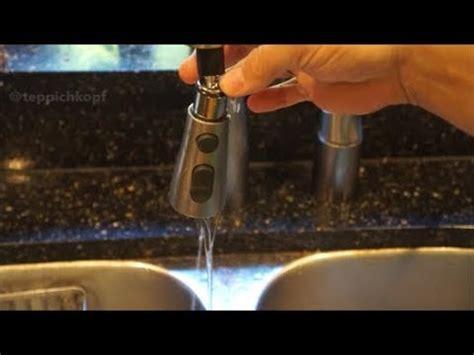 easy diy fix leaky kohler kitchen faucet pull  sprayer youtube
