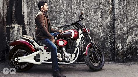Modified Indian Bicycle by Best Modified Bikes In India Rajputana Custom Gq India