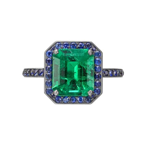 green with envy manuel bouvier emerald rings jewels du jour
