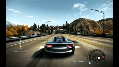 speed chions porsche 918 spyder porsche 918 spyder need for speed pursuit video games