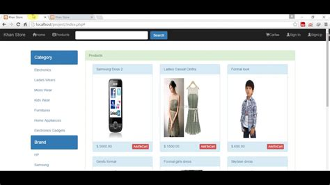 tutorial php bootstrap shopping cart tutorial bootstrap php mysqli jquery ajax