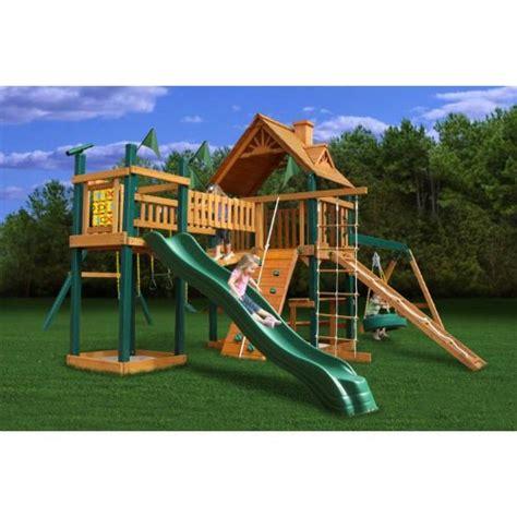 blue ridge frontier swing set gorilla playsets blue ridge pioneer peak playground system