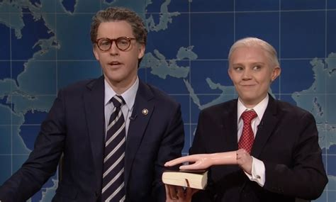 jeff sessions kate mckinnon snl kate mckinnon s jeff sessions impersonation on snl is