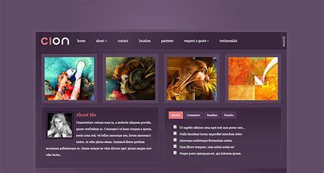 elegant themes gallery cion wordpress theme