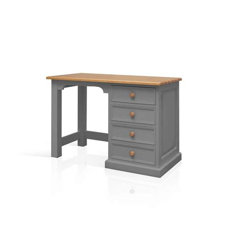ebay small computer desk galway grey painted pine furniture small pc office