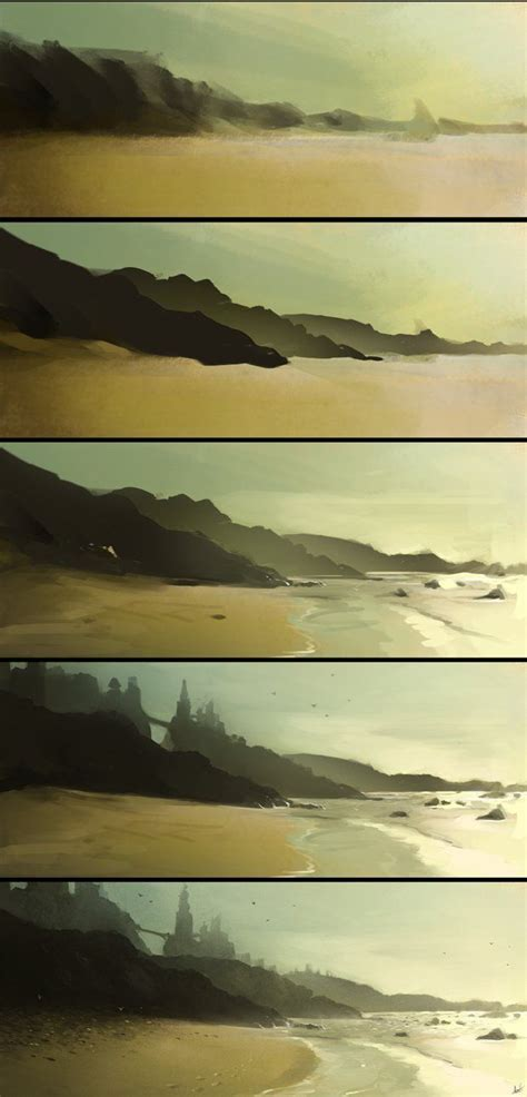 Landscape Digital Tutorial 25 Beautiful Step By Step Painting Ideas On