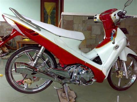 Shockbreaker Ohlins Jupiter modifikasi honda supra x 125