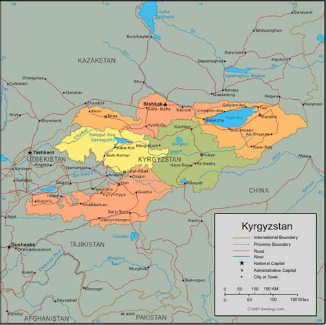 kyrgyzstan in world map quot upheaval in kyrgyzstan could imperil key u s base quot by