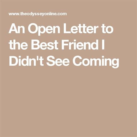 appreciation letter to my best friend 25 best ideas about to my best friend on my