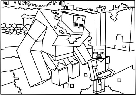 minecraft snowman coloring page printable minecraft coloring pages az coloring pages