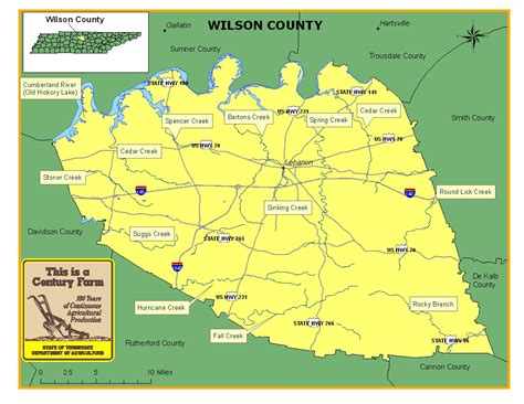 wilson county tennessee century farms