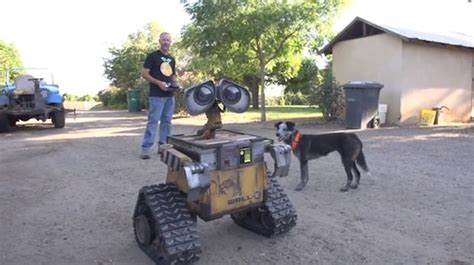 film robot wali making a real life size wall e robot gift ideas