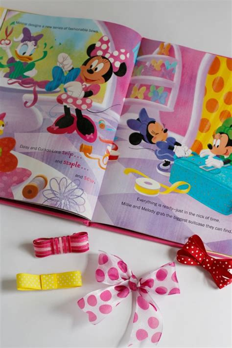 Making Hair Bows With Minnie Make And Takes