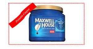 printable coupon save 1 on maxwell house