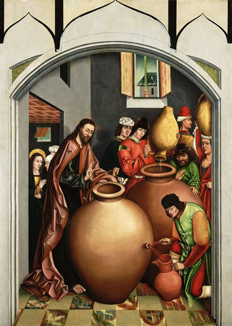 Wedding Feast At Cana Epiphany by Matthew Henry Bartlett 187