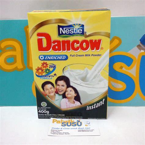 Dancow Instant Enriched dancow instan enriched plain 400g pabrik detil