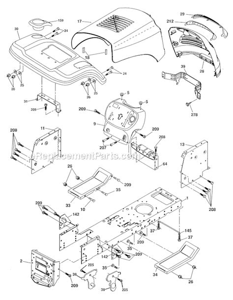 craftsman yt 3000 parts diagram engine craftsman 3000