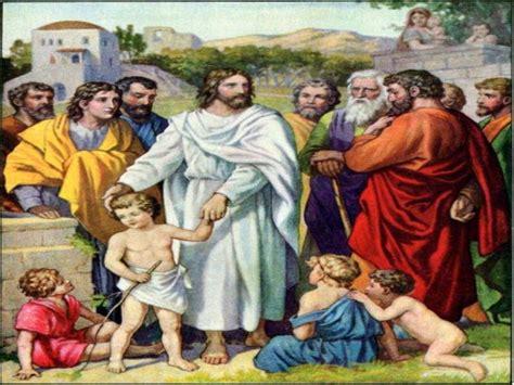 imagenes de jesus bendice a los niños cuadros de jes 250 s y los ni 241 os obrerofiel