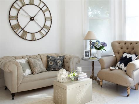 living room with clock country living room london